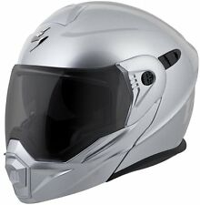 Scorpion EXO-AT950 Versatile Modular Helmet Hypersilver Free Size Exchanges