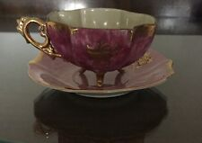 Vintage Yamayo Fine China 3 Footed Tea Cup and Saucer