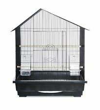 Prevue Pet Products Offset Roof Cockatiel Cage Black New