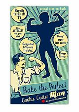 Talisman Designs 4001 Retro Cookie Cutter Bake The Perfect Man New