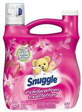 Snuggle Exhilarations Liquid Wild Orchid and Vanilla 100 Wash Loads 103.8... New