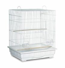 Prevue Pet Products Square Top Parakeet Cage White New