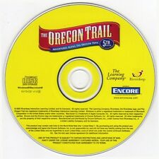 The Oregon Trail 5th Edition (Age 9+) (CD, 2005) for Win/Mac - NEW CD in SLEEVE