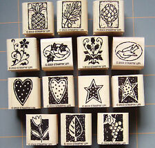 """STAMPIN UP """"NATURE BLOCKS & MORE"""" ~ RUBBER STAMPS ~ YOU PICK! ~ RARE MUST HAVES!"""