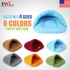 Cozy Puppy Soft Warm Cave House Sleeping Bag Mat Pad Puppy Pet Cat Dog Nest Bed