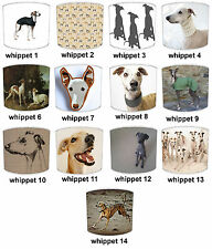 Whippet Dog Print Table Lamp Shades Or Ceiling Light Shades Lampshades Pendants