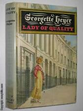 Lady Of Quality by GEORGETTE HEYER - 1972 1st ed Hardcover 0370014790