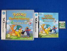 ds POKEMON MYSTERY DUNGEON Explorers Of Sky *x DSI 3DS Nintendo PAL UK VERSION