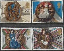 Great Britain 1974 CHRISTMAS (4) Unhinged Mint SG 966-9