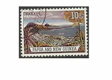 Papua New Guinea 1963 10/- RABAUL HARBOUR (1) Very Fine Used SG 44
