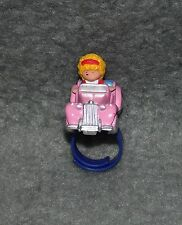 Polly Pocket Polly's Sports Car Ring 1 Figur Fingerring 80er 90er Jahre Auto