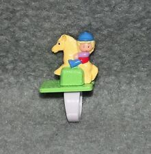 Polly Pocket on Her Pony Ring Fingerring 80er 90er Jahre Mini Pferd reiten