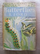 book THE NEW NATURALIST 1 1st Butterflies E.B.FORD 1945 HB with DJ