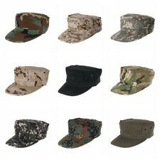 Camouflage Mens Military Octagon Hat Army Ranger RipStop Soldier Cap Combat Hats