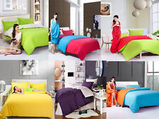 Great Collection of 1500TC Reversible Egyptian cotton.Duvet/Bedding set
