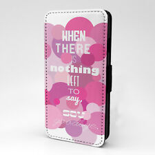 Saying Quote Flip Case Cover For Samsung Galaxy - A1168
