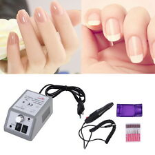 Electric Pedicure Nail art Acrylic Machine Drill Pen Metal Engraving Tool Set QT