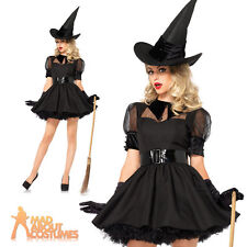 Sexy Bewitching Witch Costume Ladies Fancy Dress Halloween Outfit by Leg Avenue