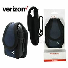 Verizon OEM Nite-Ize Vertical Rugged Pouch - Charcoal Holster Cover