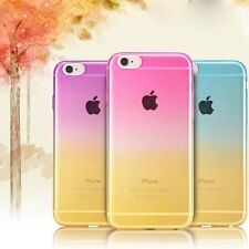 Luxury Ombre Mix Color Soft Solicone/GEL/TPU Case Cover For iPhone Series 7G/6/5