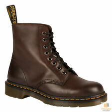 Dr. Martens Unisex Pascal 8 Eye Lace Up Genuine Soft Leather Boots Shoes New