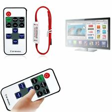 1/2/5 P 12V RF Wireless Remote Switch Controller Dimmer for Mini LED Strip Light
