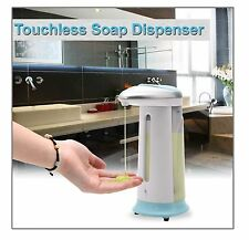 New 400ml Automatic Liquid Soap Dispenser Hands Free IR Smart Sensor Best GiftJS