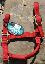 New Weaver Original Yearling Sized Nylon Horse Halter. Horse Tack