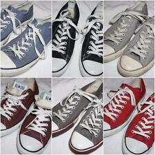 Converse All Stars Mens Sz 9 Canvas Low Top Sneakers - Choose from 4 Colors