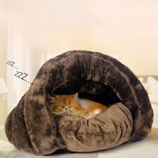 Warm Cat / Dog Kitten Cave Pet Bed House Puppy Sleeping Mat Igloo Nest Kennel