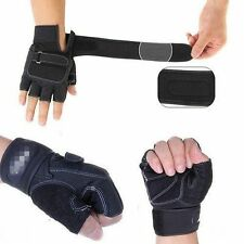 New Gym Fitness Workout Weight Lifting Cycling Exercise Training Half Mitt Glove