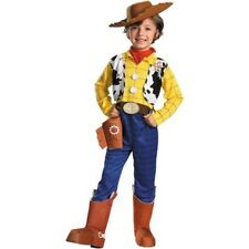 Toy Story Woody Deluxe Child Halloween Costume Kid Cowboy Children Boys