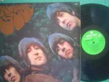 BEATLES lp RUBBER SOUL argentina ID# 59066 STEREO-GREEN LABEL- ODEON 6127 BEATLE