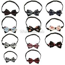 Men Bowtie Novelty Tuxedo Necktie Bow Tie Adjustable Choose Styles