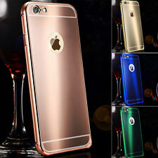 Luxury Metal Shine Hard Back Case Cover for Apple iPhone 7 6 6S Plus