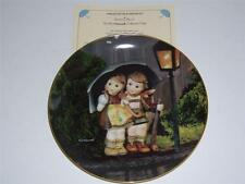 """Hummel Little Companions Collectors Plate.""""Stormy Weather""""."""