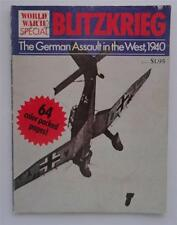 (184) Blitzkrieg WWII Special The German Assault in the West 1940 PB 1976