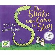 Snake Who Came to Stay (Audio CD) Julia Donaldson