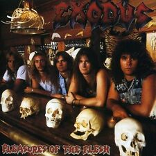 Used CD (Like New, Only Played Once) Exodus Pleasures Of The Flesh 1987 Comba...