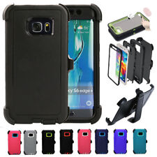 For Samsung Galaxy S6 Edge Plus w/Screen [Belt Clip Fits Otterbox Defender]