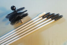 'FLEXI CHIMNEY RODS'  THE No 1 CHOICE CHIMNEY SWEEPING SET FOR LINERS.