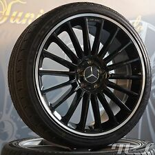 "Mercedes Benz 19"" Alloy wheels A B C E Class W204 W205 W212 AMG Winter tyres"