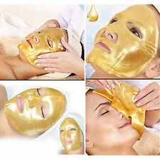 5 X Crystal Gold Collagen Facial Face Mask Anti-Aging Moisturizing Skin Care TY
