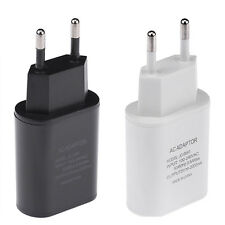 NEW USB 5V/2A AC Wall Plug Power ☆Adapter EU/US/UK Plug Charger For Phone Tablet