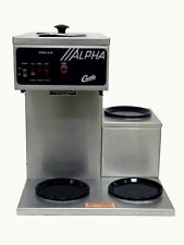 Wilbur Curtis Alpha 3SP Pourover Coffee Brewer Maker with Three Warmers