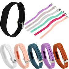 Sport Silicone Wrist Band Classic Buckle Strap Holder For Fitbit Flex 2 Tracker