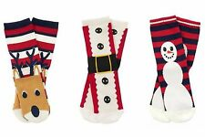 NWT Gymboree Christmas Holiday Shop Santa Suit, Reindeer, Snowman Socks U-Pk