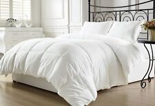 White Goose Down Comforter Alternative King Allergy Free Year Round Bedding Home