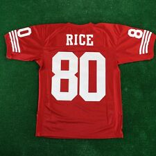 Jerry Rice 1994 San Francisco 49ers Mitchell & Ness Authentic Red Jersey Men's