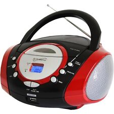 NEW Supersonic SC-508RED Portable Audio System with USB Card Slot SC-508